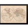 Vintage Map of the World IV | Rectangle Print