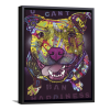 U Cant Ban Happiness   Single Rectangle Canvas