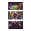 U Cant Ban Happiness   3-Piece Rectangle Canvas
