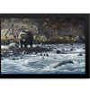 Along The Yellowstone - Grizzly   Rectangle Print