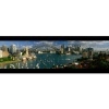 Harbor, City And Bridge | Panaromic Print