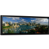Harbor, City And Bridge | Single Canvas Panaroma