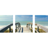 Boardwalk on the Beach | 3-Piece Panaromic Canvas