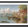 Mariner's Haven | Rectangle print with mat