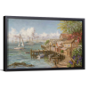 Mariner's Haven | Single Rectangle Canvas