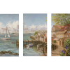 Mariner's Haven | 3-Piece Rectangle Canvas