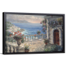 Mediterranean Elegance | Single Rectangle Canvas
