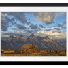 Rustic Wyoming   Rectangle print with mat