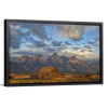 Rustic Wyoming   Single Rectangle Canvas