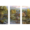Peaceful Grove | 3-Piece Rectangle Canvas