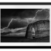 BW Lightning at MR | Rectangle print with mat