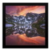 Indian Peaks Reflection | Square Print