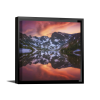 Indian Peaks Reflection | Single Square Canvas