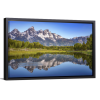Ripples in the Tetons   Single Rectangle Canvas