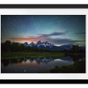 Schwabacher Nights Copy   Rectangle print with mat