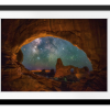 Window to the Heavens | Rectangle print with mat