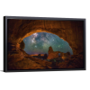 Window to the Heavens | Single Rectangle Canvas
