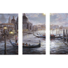 Grand Canal Venice | 3-Piece Rectangle Canvas