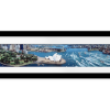 Aerial View Sydney, Australia | Panaromic Print with mat