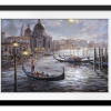 Grand Canal Venice | Rectangle print with mat