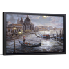 Grand Canal Venice | Single Rectangle Canvas