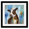 Spring Calf  Square Print with mat