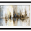 Rectangle print with mat | Harbor Lights