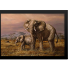 Mother and Child (Elephants) | Rectangle Print
