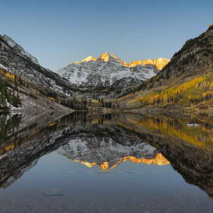 Maroon Bells, Aspen, Colorado USA