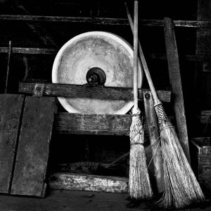 Brooms And Stone