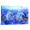 Dolphin Dance | 1.5 inch gallery wrap