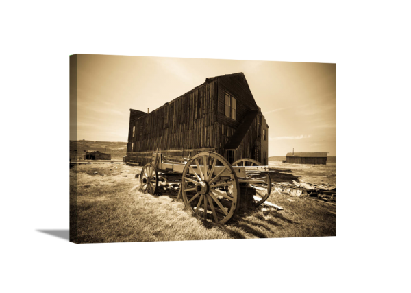 Western Carriage Canvas