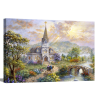 Pray For World Peace | 1.5 inch gallery wrap