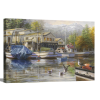 Gulls at the Marina | 1.5 inch gallery wrap