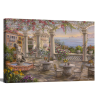 Dining on the Terrace | 1.5 inch gallery wrap