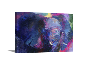 Mother Elephant Canvas