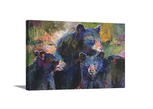 Cubs with Mom Canvas