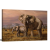 Mother and Child (Elephants) | 1.5 inch gallery wrap