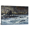 Along The Yellowstone - Grizzly   1.5 inch gallery wrap