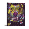 U Cant Ban Happiness   1.5 inch gallery wrap