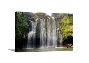 Waterfall in a Forest I Canvas